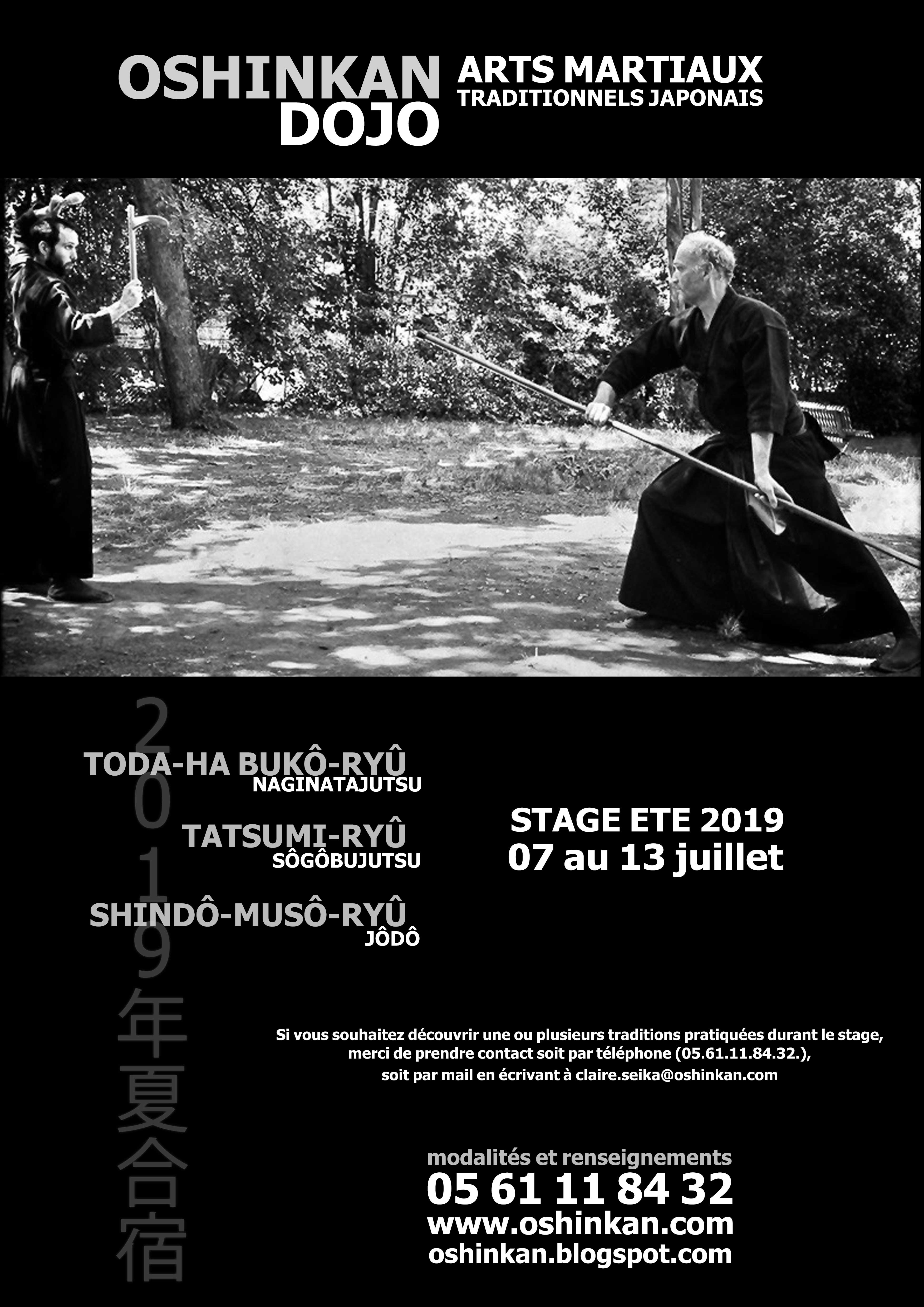 stage arts martiaux dojo oshinkan 07 2019